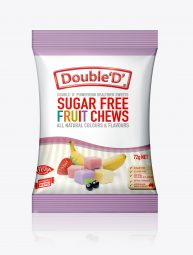 3D_OF1# SUGAR FREE FRUIT CHEWS 72g_Single
